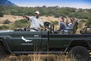 safari guide children game drive family