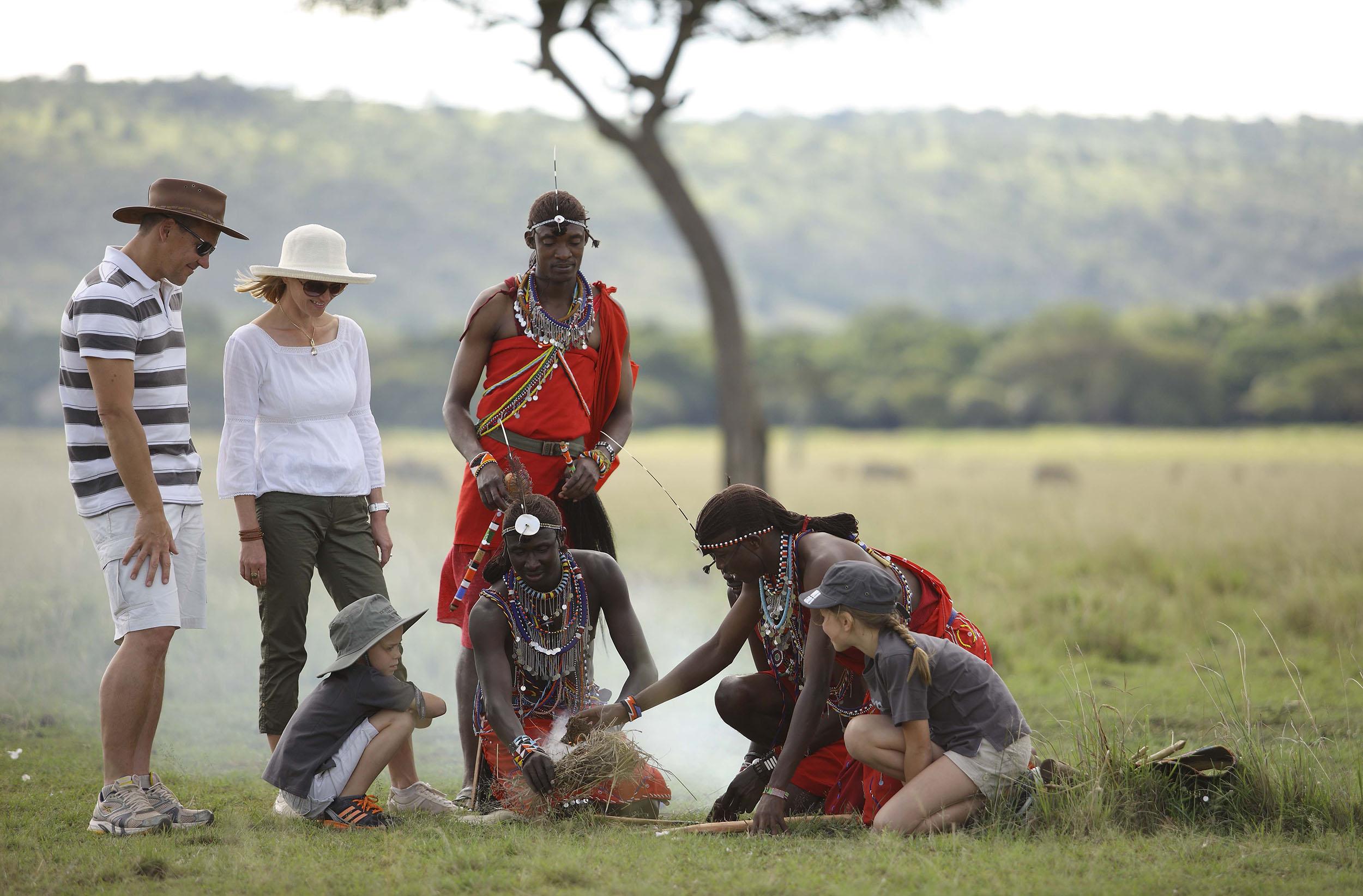 kenya family safari Masai Mara