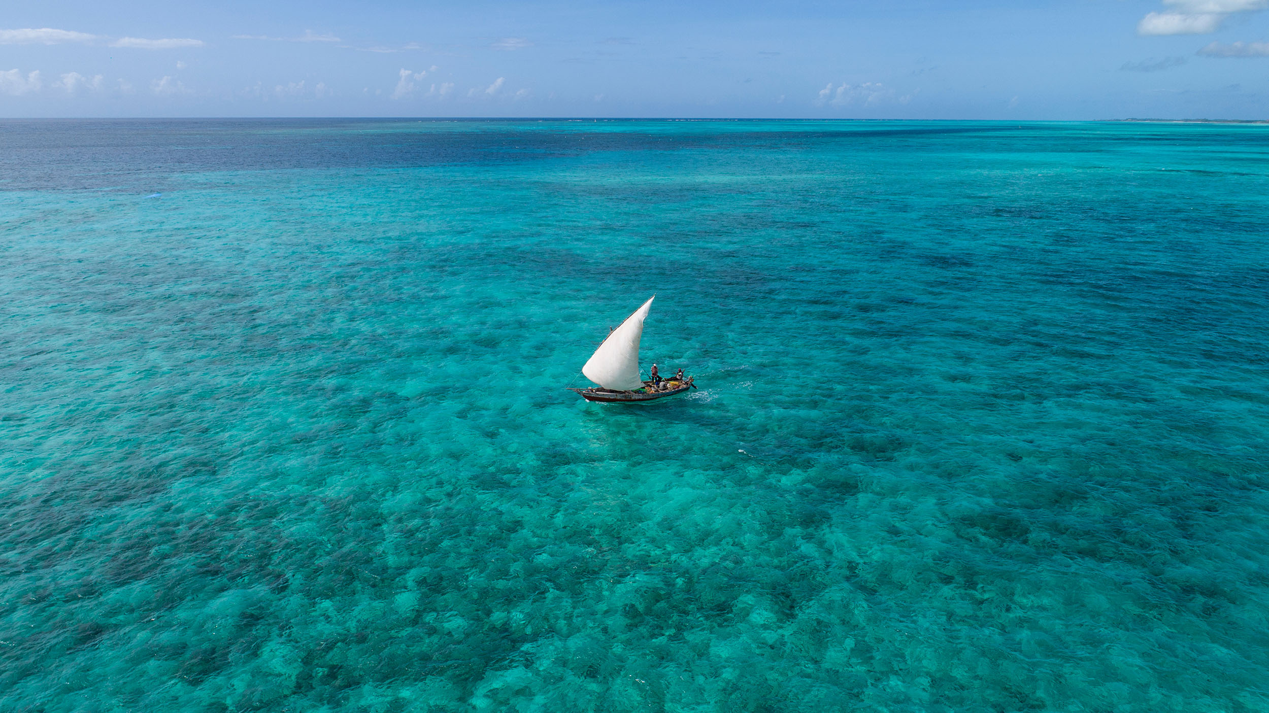 Zanzibar dhow cruise ocean