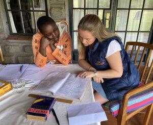 Kenya Coral Tree Girls Fund Charity Tess