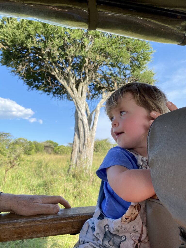 Kenya Masai Mara Cottar's Camp Elsa leopard family safari