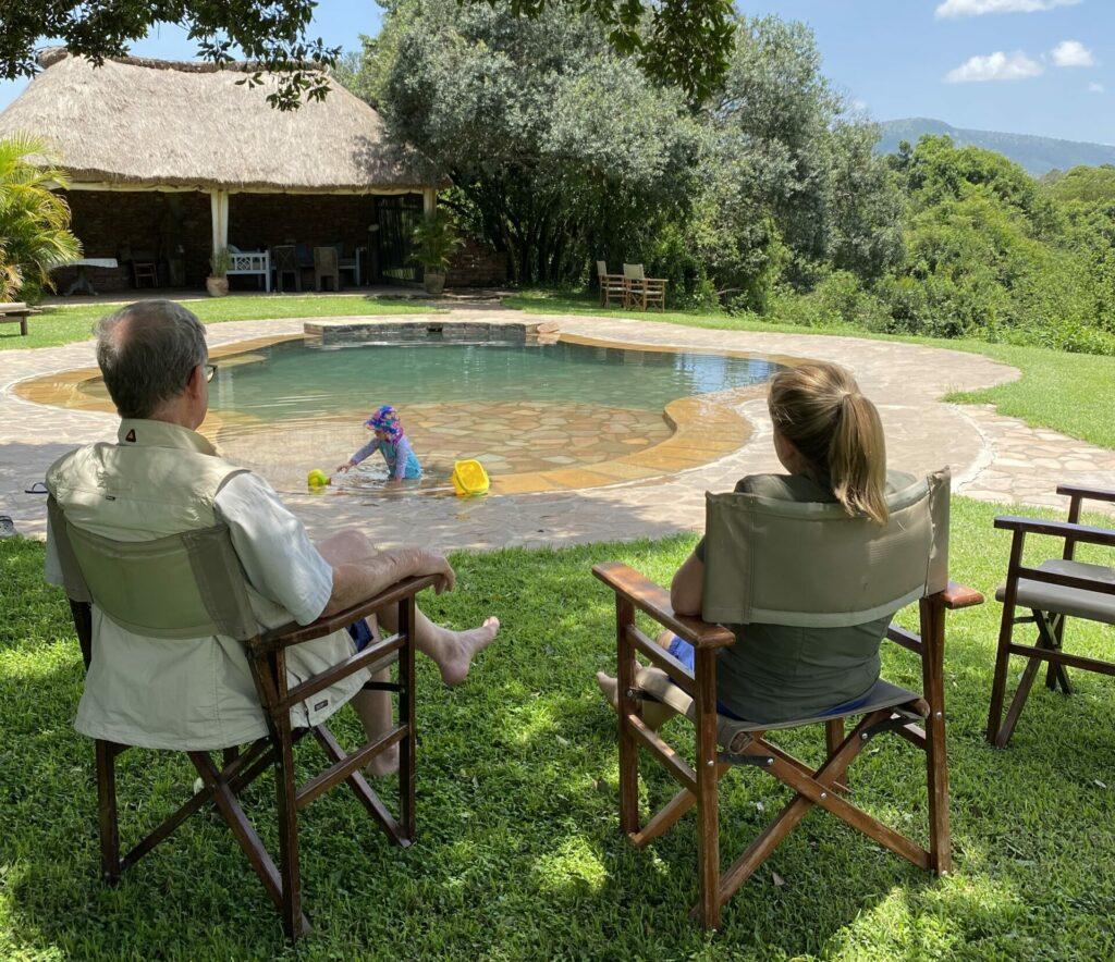 Kenya House in the Wild Tess Elsa Babu pool Masai Mara family safari