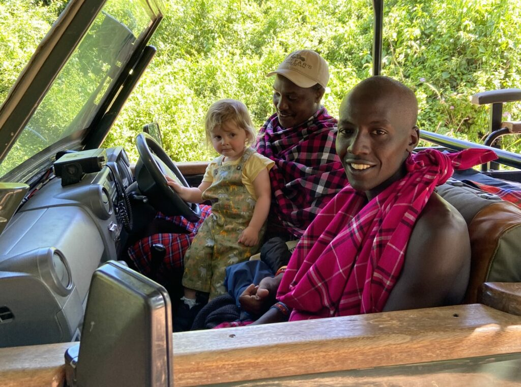 Kenya Masai Mara Cottar's Camp Elsa staff family safari