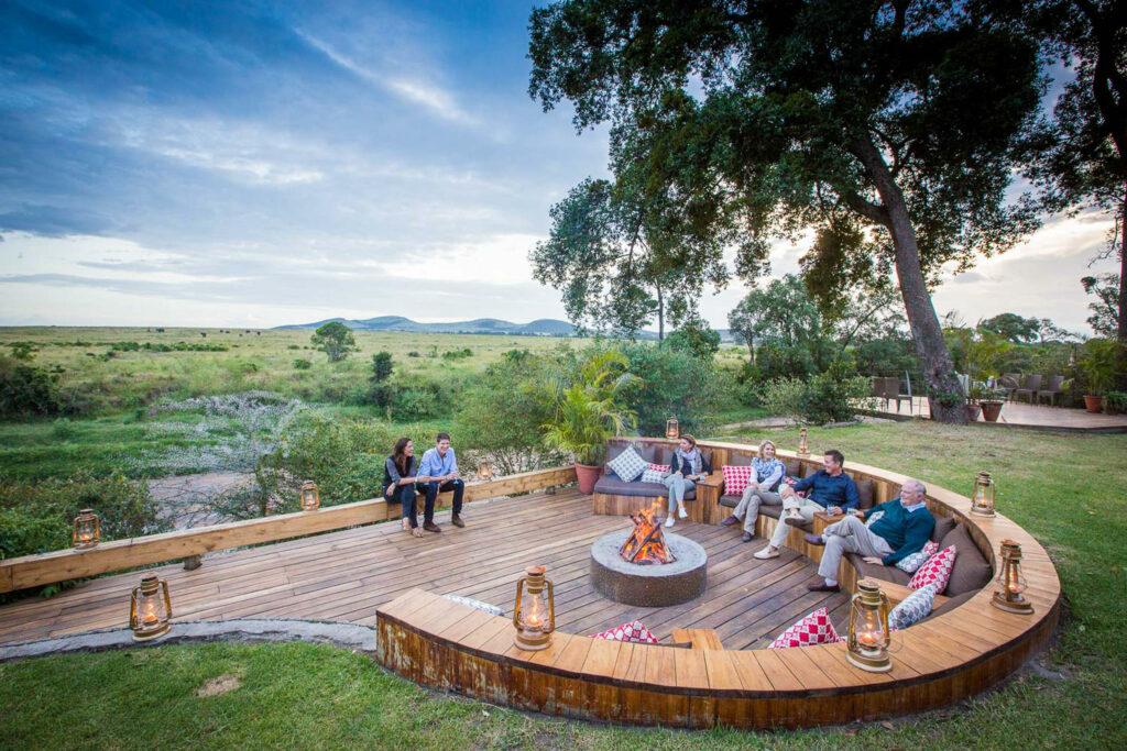 Kenya Masai Mara Sala's Camp family safari African safari holidays