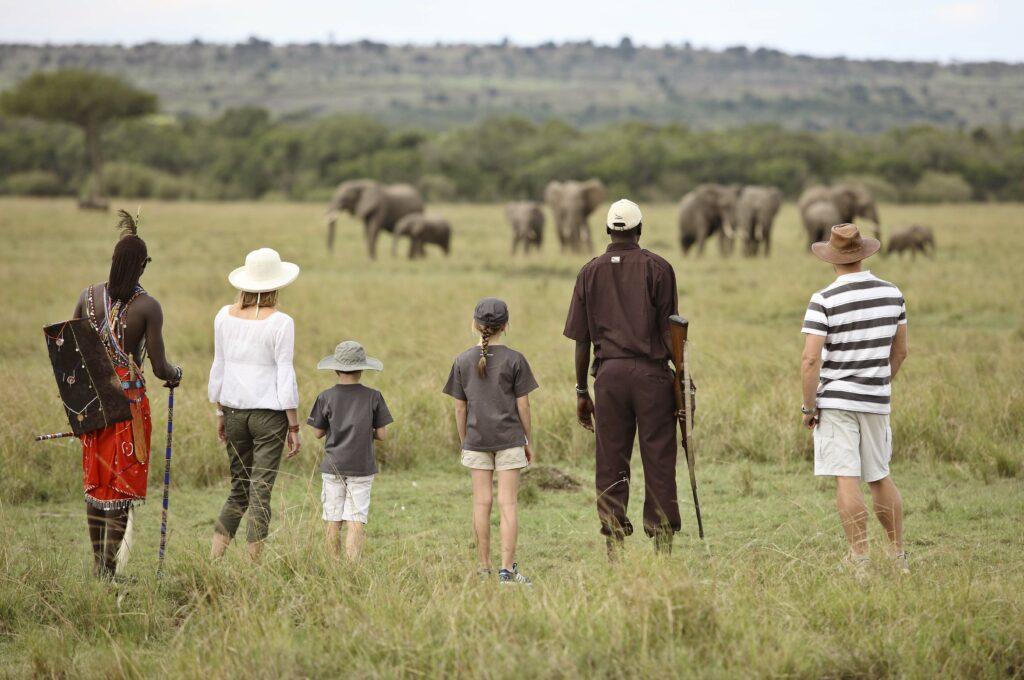 Kichwa Tembo walking safari