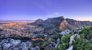 Cape Town cityscape South Africa