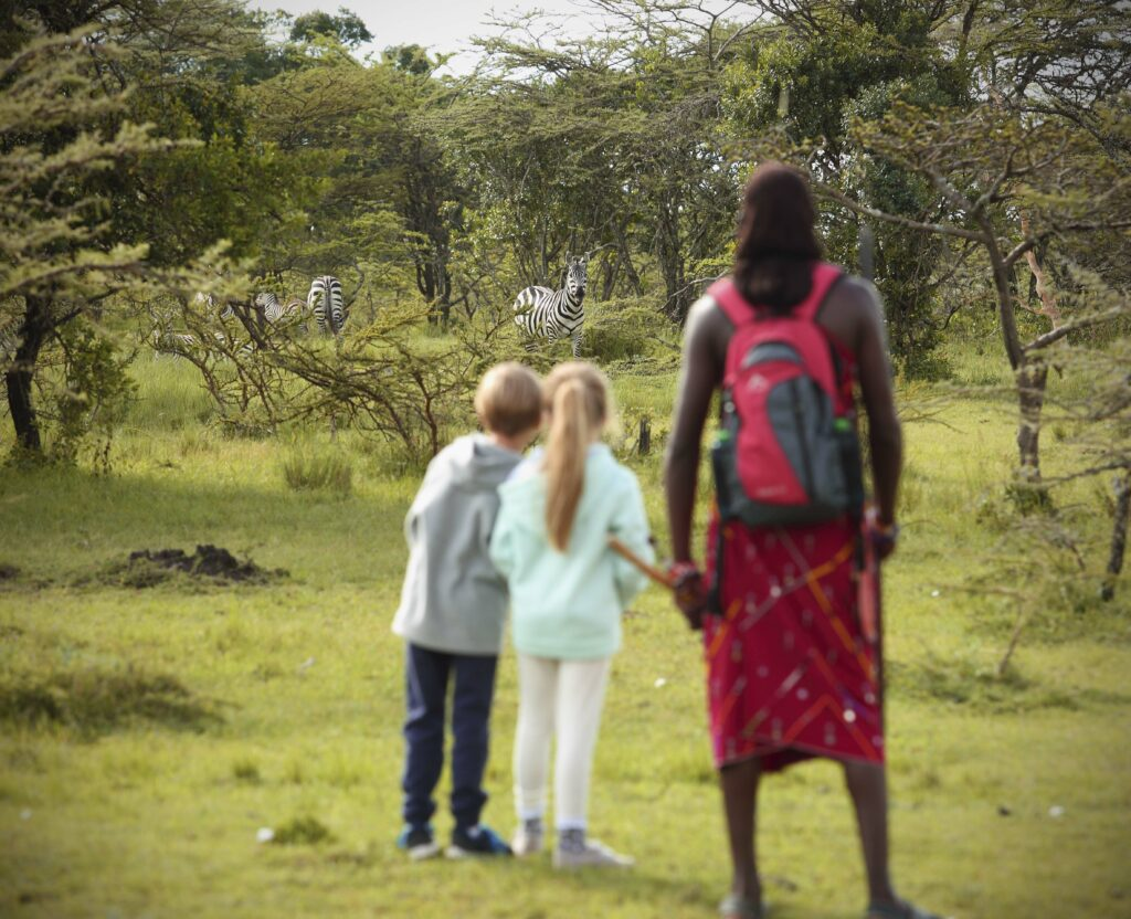 Angama Mara African family safari